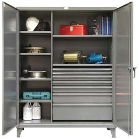Strong Hold® Heavy Duty Drawer Cabinet 56-246-7/5DB - 60 x 24 x 78