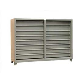 Strong Hold® Heavy Duty Deluxe Drawer Unit 6.55-DS-CSU-260-16DB - 82 x 26 x 59