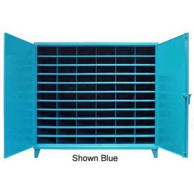 Strong Hold® Heavy Duty Metal Bin Compartment Cabinet 6.55.6-3611-66OP - 77 x 36 x 72