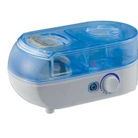 Sunpentown SPT Personal Humidifier With ION, 7 Hour Capacity, Blue/White by
