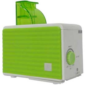 Sunpentown SPT SU-1053G Personal Humidifier 120cc/Hr Humidity Output, Green/White by