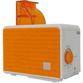 Sunpentown SPT SU-1053N Personal Humidifier 120cc/Hr Humidity Output, Orange/White by