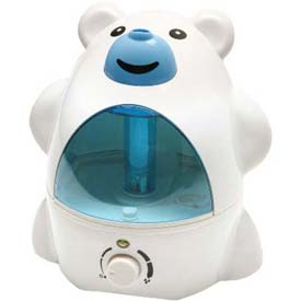 Sunpentown SPT Ultrasonic Humidifier, Polar Bear, Up To 450 Sq. Ft., 8-10 Hour Capacity, BL/WH by