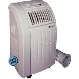 SPT® TechniTrend Portable Air Conditioner with Dehumidifer, 9000 BTU Cool, Up To 250 Sq. Ft.