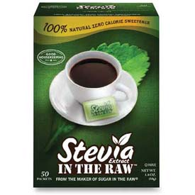Sugar Foods Stevia In The Raw, 50/Box