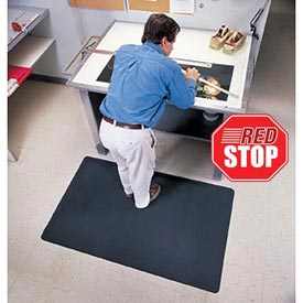 Pebble Trax Grande RedStop Mat 3' x 12' Black