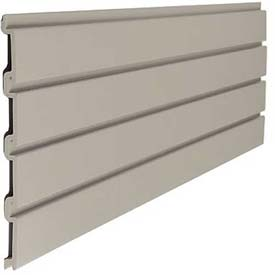 "Suncast SW04, Slat Wall 48"" W X 3/4"" D X 12"" H Section, Light Taupe - Pkg Qty 6"