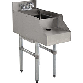 """Click here to buy Add-On Unit, 12"""", Blender/Recess/Sink w/ Gooseneck Faucet, 21"""" Front To Back."""