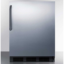 Summit ALB753BSSTB ADA Comp Built in Undercounter Refrigerator 5.5 Cu. Ft. Black/Stainless... by