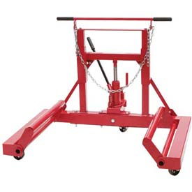Sunex Tools 1501 1500 lb. Hydraulic Wheel Dolly, Tilting Frame, Ball Bearing Casters
