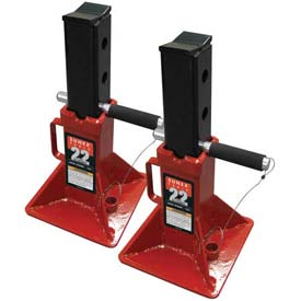 Sunex Tools 1522 22 Ton Jack Stands, Pin-Type, Pair