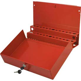 Sunex Tools 8011 Red Large Locking Screwdriver/Pry Bar Holder for Tool Carts