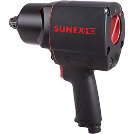 """Sunex Tools SX4355, Composite Impact Wrench, 3/4"""" Drive, 1100 ft. lbs, 9.6 CFM, 3/8"""" Inlet by"""