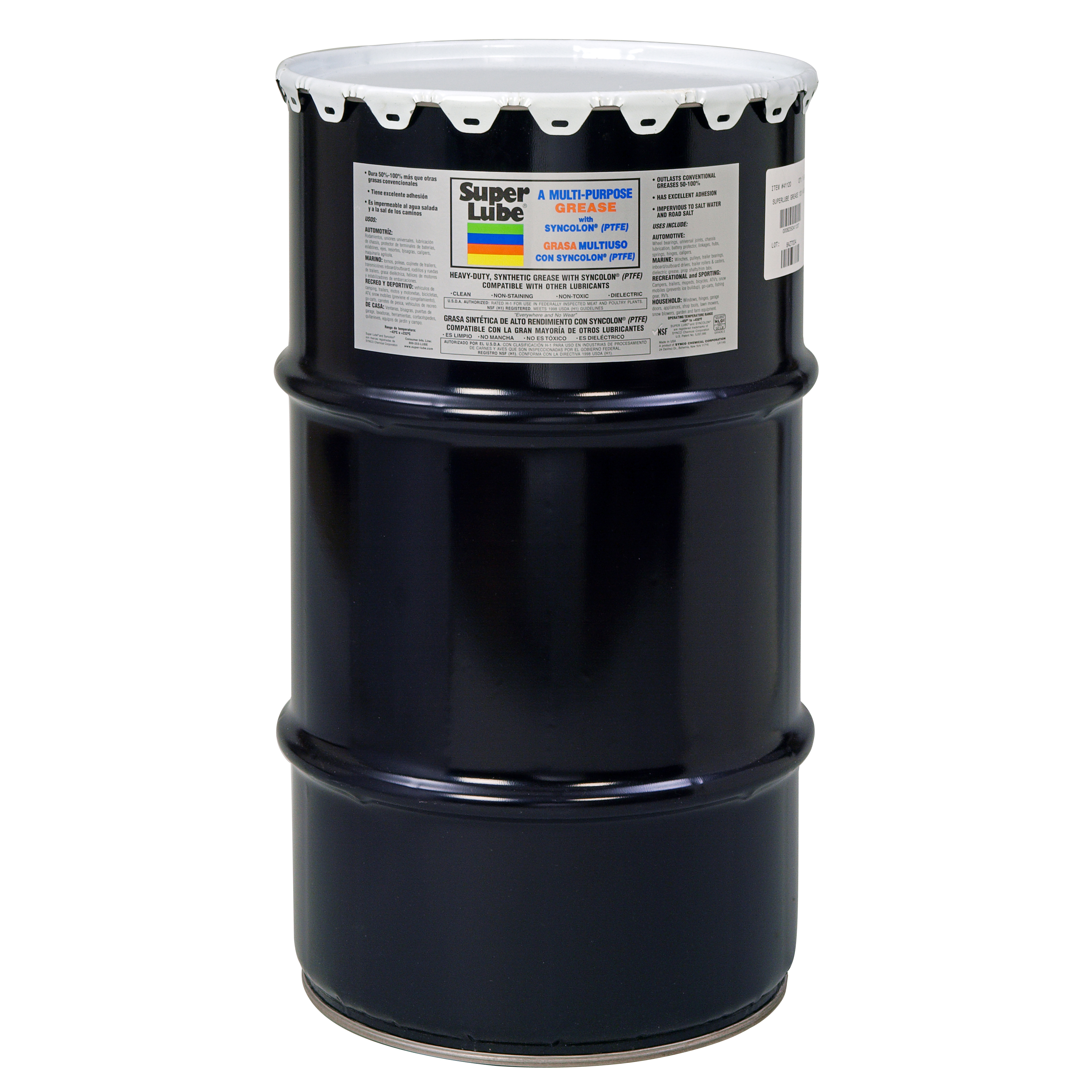 Answer 55 gallon drum of anal lube reply, attribute