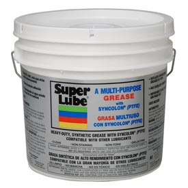 Super Lube Synthetic Grease NLGI 1, 5 Lb. Pail - 41050/1 - Pkg Qty 4