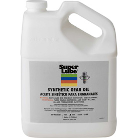 Super Lube® Synthetic Gear Oil ISO 220, 1 Gallon Bottle - 54201 - Pkg Qty 4