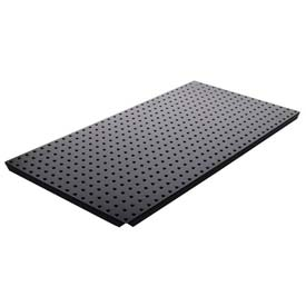 Pegboard Panels - Powdercoat Black 16 x 32 (2 pc)