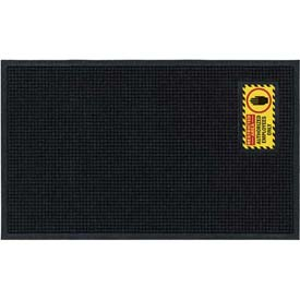 "Waterhog™ Classic Mat, Restricted Area, Vertical Black Border, 69""x45""x3/4"""