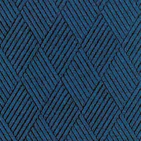 "Waterhog Classic Carpet Tile 21658716000, Diamond, 18""L X 18""W X 7/16""H, Bluestone, 10-PK"