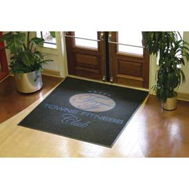Logo Mat-Waterhog Logo Inlay 4' x 20'