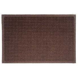 Waterhog Fashion Mat - Dark Brown 4' x 6'