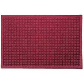 Waterhog Fashion Mat - Red/Black 3' x 10'