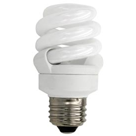 Tcp 48909 9 Watt Full Spring Pro- Cfl Bulb - Pkg Qty 12
