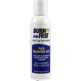 BurnFree Pain Relieving Gel, 4 oz. Squeeze Bottle by