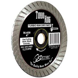 "Edmar 4.5"" Heavy Duty Turbo Saw Blade by"