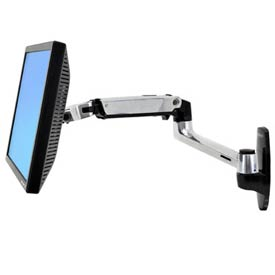 Ergotron® LX Wall Mount LCD Arm