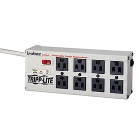 Isobar Ultra Surge Suppressor 8 Outlets 12' Cord 3840 Joules