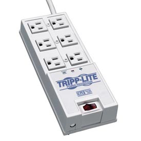 Protect It! 6-Outlet Super Surge Alert Protector, 6-ft. Cord, 2420 Joules