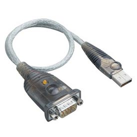 USB Serial Adapter USB/DB9M