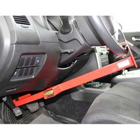 Equipment Lock Co. Wheel To Pedal Lock Combo WPL-C by