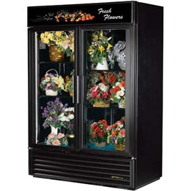 "True® GDM-49FC Floral Merchandiser 2 Section - 54-1/8""W X 29-7/8""D X 78-5/8""H"