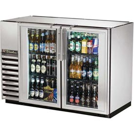 "True TBB-24GAL-48G-S Back Bar Cooler 2 Section 47-7/8""W X 24-1/4""D X... by"