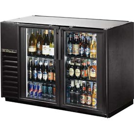 "True TBB-24GAL-48G Back Bar Cooler 2 Section 47-7/8""W X 24-1/4""D X 34-1/4""H by"