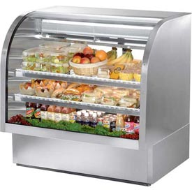 """True TCGG-48-S Curved Glass Deli Case 48-1/4""""W X 35-1/4""""D X 47-3/4""""H by"""