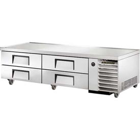 "True TRCB-79 Refrigerated Chef Base 79-1/4""W X 30-1/2""D X 20-3/8""H by"