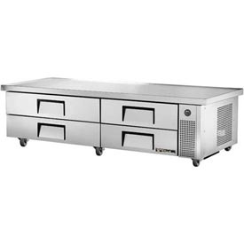 "Refrigerated Chef Base 86-1/4""W x 32-1/8""D x 20-3/8""H TRCB-82-86 by"