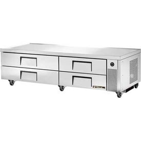 "True TRCB-82 Refrigerated Chef Base 82-3/8""W X 32-1/8""D X 20-3/8""H by"