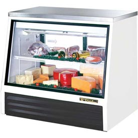 "True TSID-48-2-L Counter Height Deli Case See-Thru 48-5/8""W X 32-1/8""D X... by"
