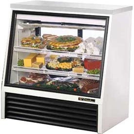"True TSID-48-2 Single Duty Deli Case See-Thru 48-1/2""W X 29-1/4""D X... by"