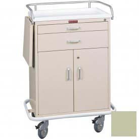 Harloff Classic Two Drawer Treatment Cart Specialty Package, Sand - 6201