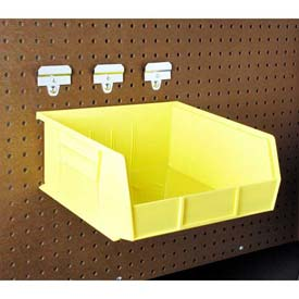 Large Pegboard Hanging Bin System (6 pc)