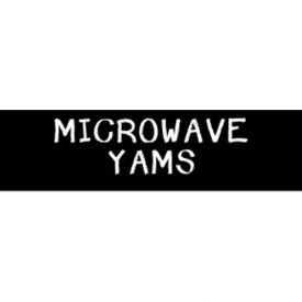 Microwave Yams Grocery Signs (1-Track Chalk Text Insert) by