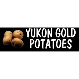 Retail Display Fixtures | Grocery Signs | Yukon Gold Potatoes Grocery ...