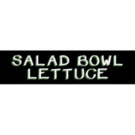 Salad Bowl Lettuce Grocery Signs (2-Track Chalk Art Insert) by
