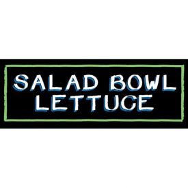 Salad Bowl Lettuce Grocery Signs (3-Track Chalk Art Insert) by