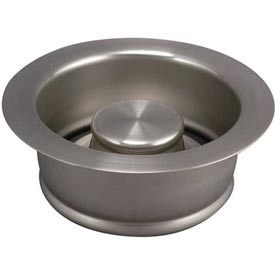 Keeney K5417dsbn, Garbage Disposal Replacement Flange & Stopper, Pvd/Brushed Nickel... by
